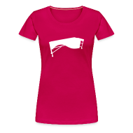 T-Shirts ~ Frauen Premium T-Shirt ~ Marimba Kontur Shirt (Damen)