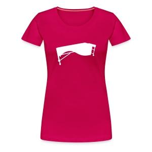 Marimba Kontur Shirt (Damen) - Frauen Premium T-Shirt