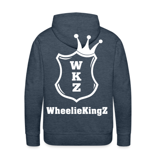 WheelieKingZ Hoodie (Größen fallen groß aus) - Männer Premium Hoodie