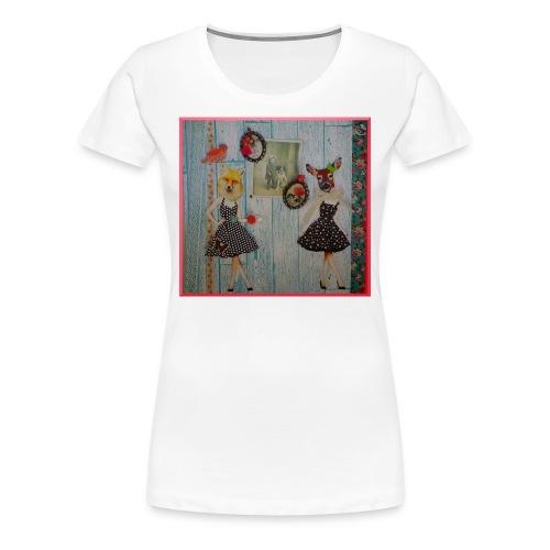 Tee-shirt Loufox in Love - T-shirt Premium Femme