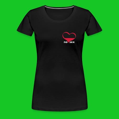 No sex symbol damesshirt - Vrouwen Premium T-shirt