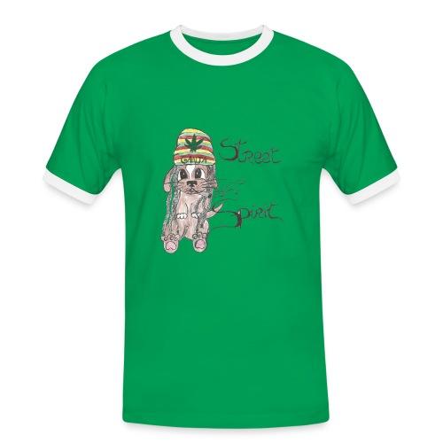 T-Shirt Homme StreetSpirit L'emprisonnement - T-shirt contrasté Homme