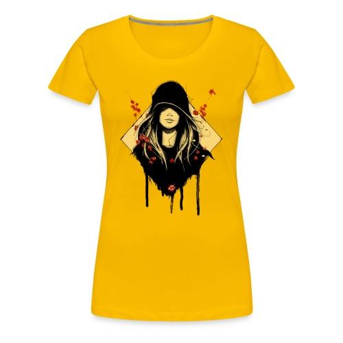 Frauenshirt Sonnengelb - Frauen Premium T-Shirt