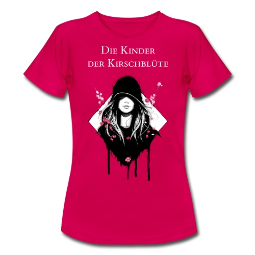 Frauenshirt Rubinrot mit Text - Frauen T-Shirt