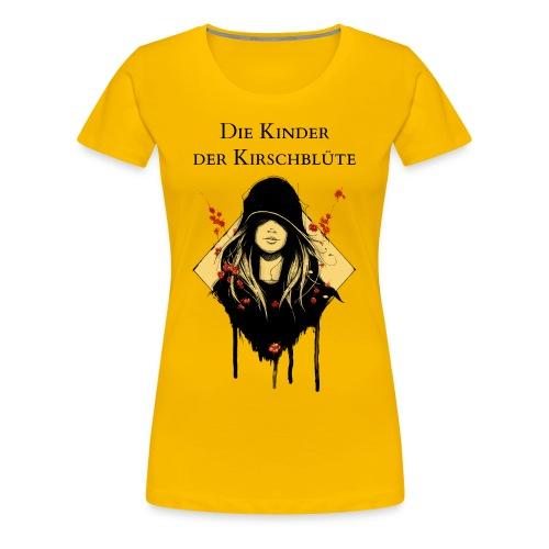 Frauenshirt Sonnengelb mit Text - Frauen Premium T-Shirt