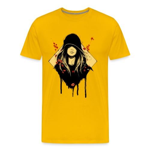 Männershirt Sonnengelb - Männer Premium T-Shirt