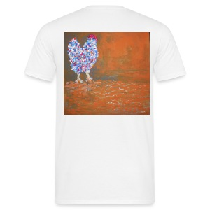 Colored Hen T-Shirt - Men's T-Shirt