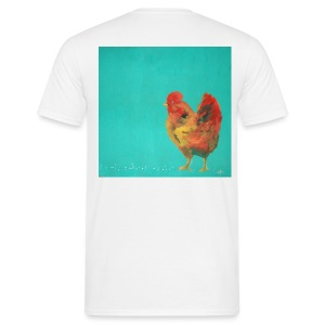 Happy Hen T-Shirt - Men's T-Shirt