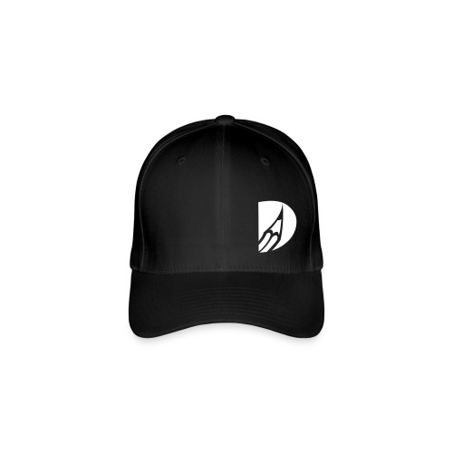 bleistift logo uni - Flexfit Baseballkappe