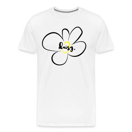 Herren Premium T-Shirt Daisy - Männer Premium T-Shirt