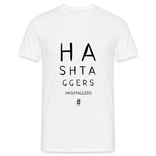 #HA SHTA GGERS  - T-shirt Homme