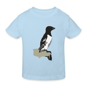 Krabbentaucher - Kinder Bio-T-Shirt