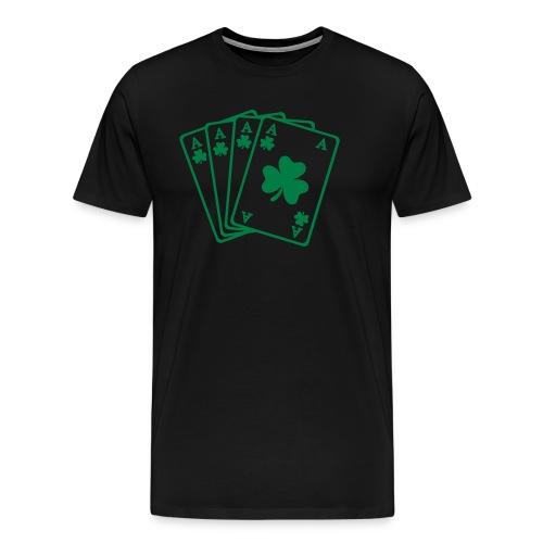 Camiseta green trevol - Camiseta premium hombre