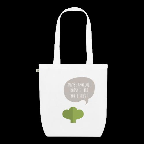 Broccoli doesn't like you! Bio Tasche - Bio-Stoffbeutel