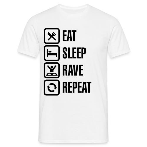 And Reapeat - Männer T-Shirt