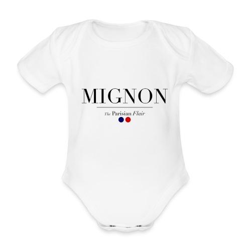 BODY BABY -  Mignon  - Body Bébé bio manches courtes