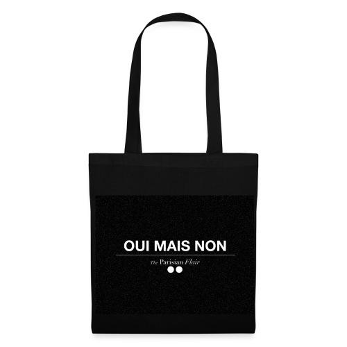 EASY - OUI MAIS NON  en toile noir - Tote Bag