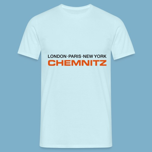 City Motive Chemitz - Männer T-Shirt