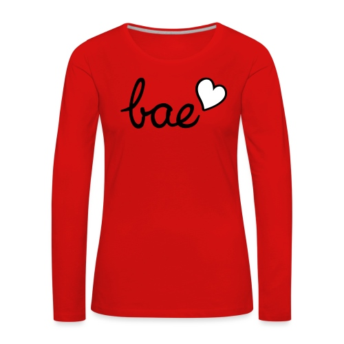 My lovely bae ❤ ❤ ❤ - Women's Premium Longsleeve Shirt