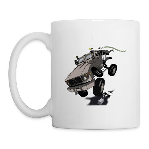 Tasse Humvee Gaucher - Mug blanc