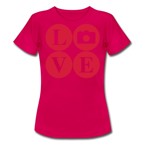 Love my Camera  - Women's T-Shirt