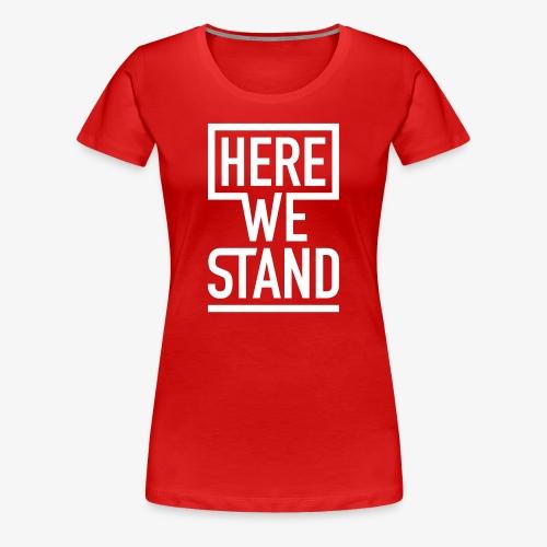 Shirt Girls rot - Frauen Premium T-Shirt