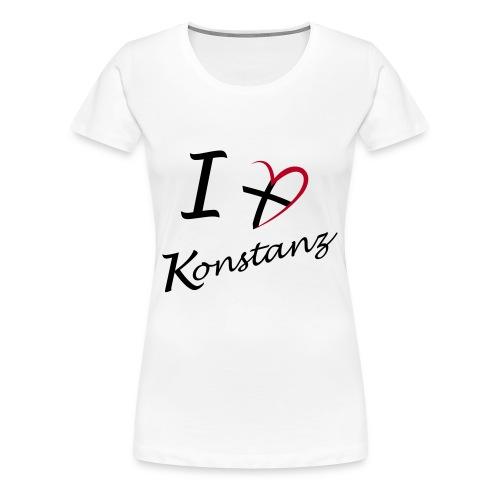 Mit Herz - Frauen Premium T-Shirt