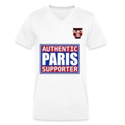 Tee shirt Homme col V Paris - T-shirt bio col V Stanley & Stella Homme