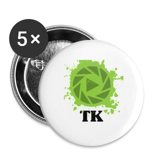 Lille button m. TK logo - Buttons/Badges lille, 25 mm