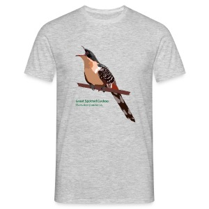 Great Spotted Cuckoo-bird-shirt - Männer T-Shirt