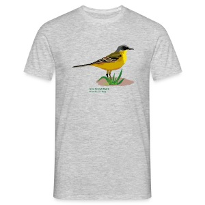 Grey-headed Wagtai-bird-shirt - Männer T-Shirt