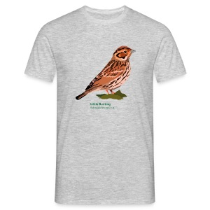 Little Bunting-bird-shirt - Männer T-Shirt