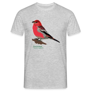 Pine Grosbeak-bird-shirt - Männer T-Shirt