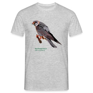 Red-footed Falcon-bird-shirt - Männer T-Shirt