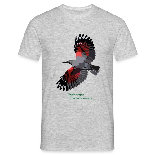 Wallcreeper-bird-shirt - Männer T-Shirt