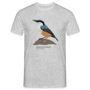 Western Rock-Nuthatch-bird-shirt - Männer T-Shirt