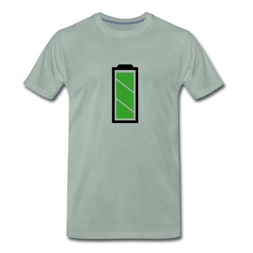 Akku voll - Männer Premium T-Shirt