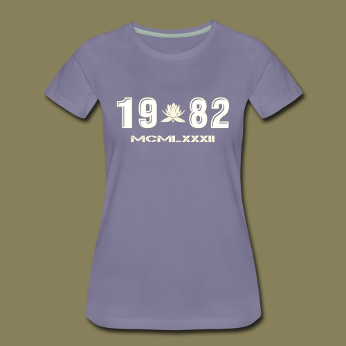 Maglietta Premium da donna - 1982 - Maglietta Premium da donna