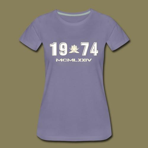 Maglietta Premium da donna - 1974 - Maglietta Premium da donna