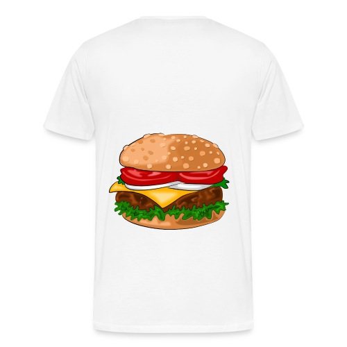 BruhGaming Hamburger T-shirt - Men's Premium T-Shirt