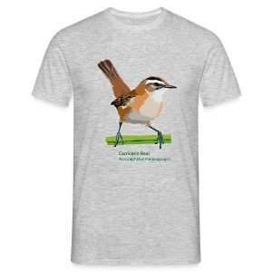 Carricerín Real-bird-shirt - Männer T-Shirt