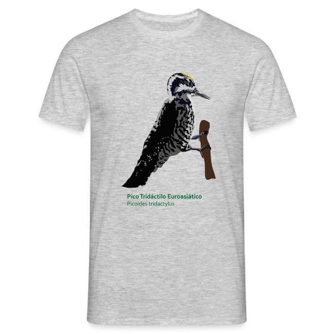 Pico Tridáctilo Euroasiático-bird-shirt