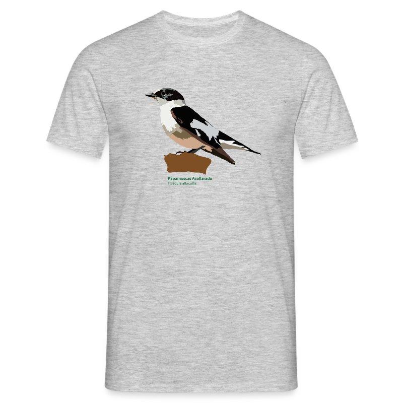 Papamoscas Acollarado-bird-shirt - Männer T-Shirt