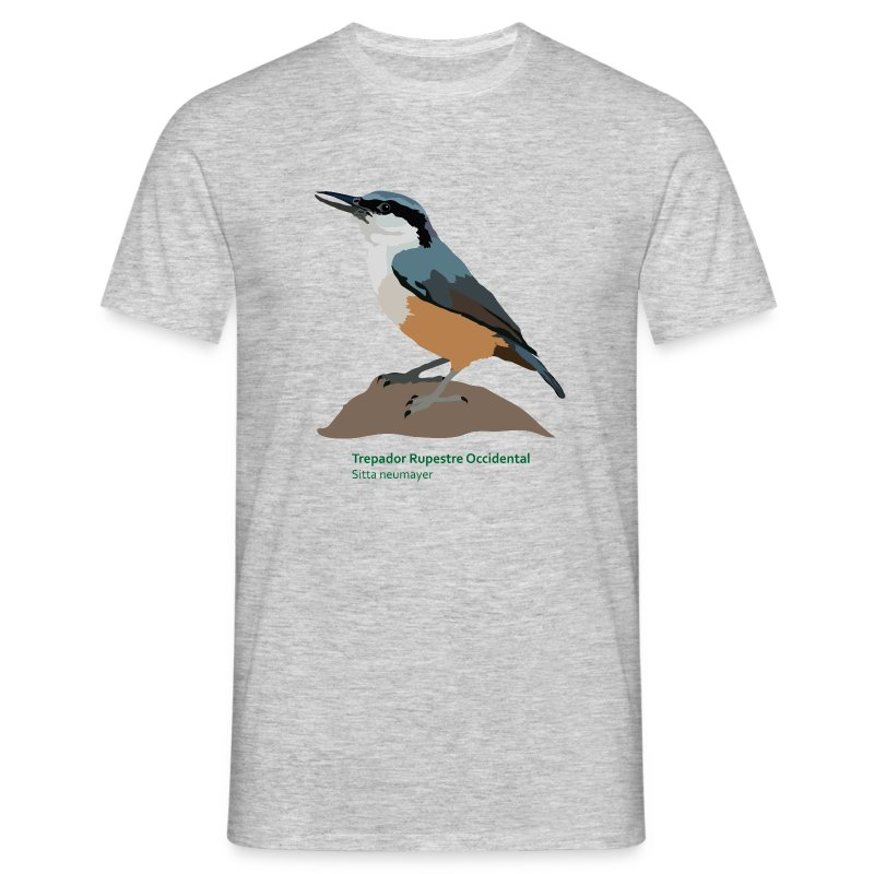 Trepador Rupestre Occidental-bird-shirt - Männer T-Shirt