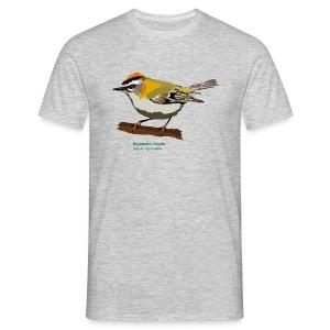 Reyezuelo Listado-bird-shirt - Männer T-Shirt
