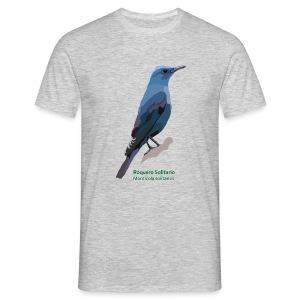 Roquero Solitario-bird-shirt - Männer T-Shirt