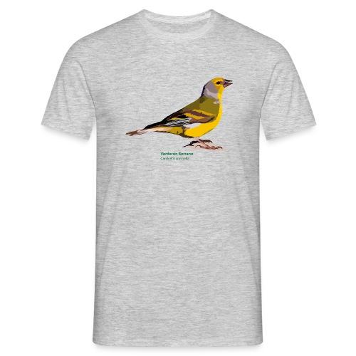 Verderón Serrano-bird-shirt - Männer T-Shirt