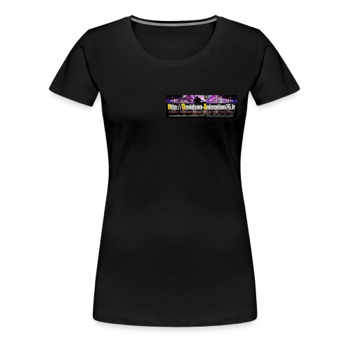 Tee-shirt Femme 2016 - T-shirt Premium Femme