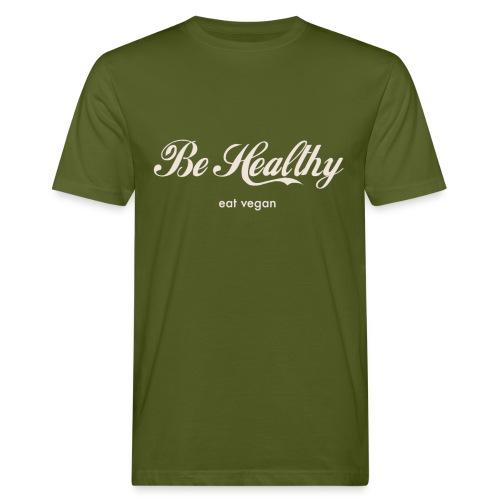 Be Healthy Organic Cotton Shirt Men - Männer Bio-T-Shirt