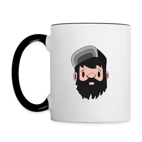 Tasse Bicolore Logo Face - Mug contrasté